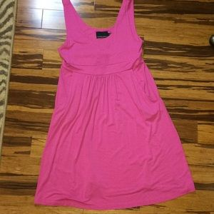 Jersey tank dress with pockets!